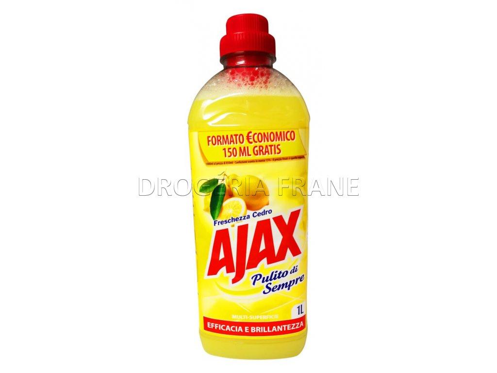 Ajax čistiaci prostriedok na podlahy Pulito di Sempre Citrón 1 L