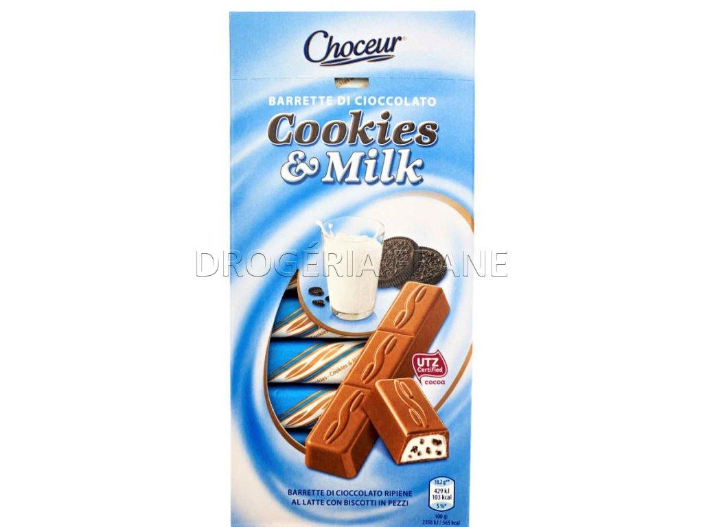 coko tycinky cookies milk choceur 11 ks 200 g