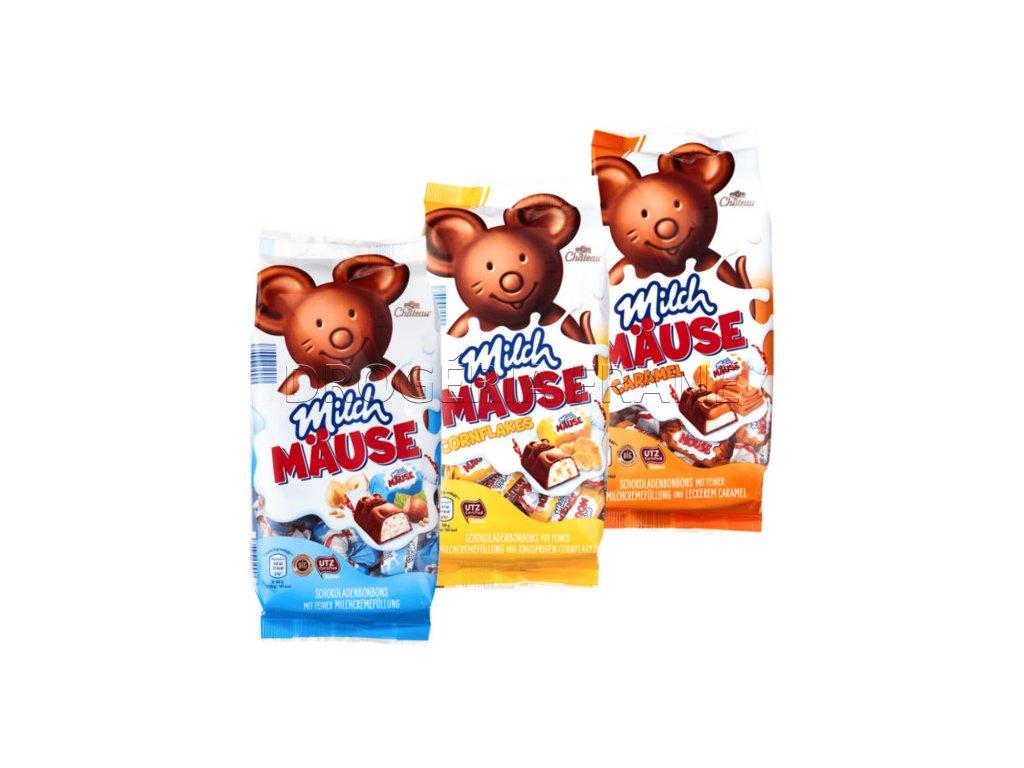 Milch-Mause čokoládové cukríky Choceur - 210 g
