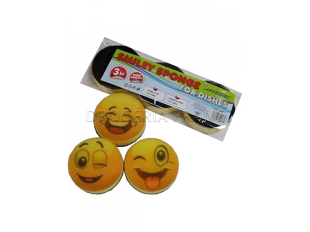 spongia na riad smiley 3 ks