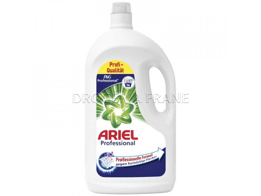gel na pranie ariel na biele pradlo professional gel 4 07 l 74 prani