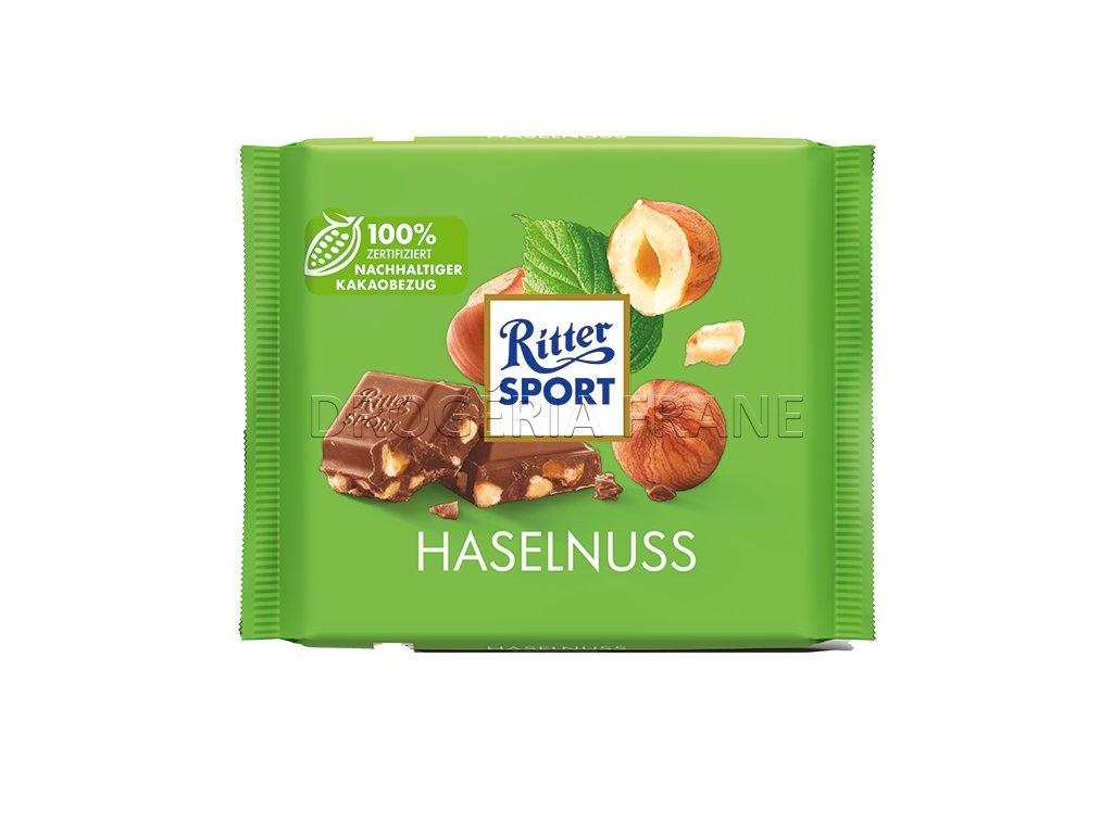 ritter sport mliecna cokolada s kuskami lieskovych orieskov 100 g