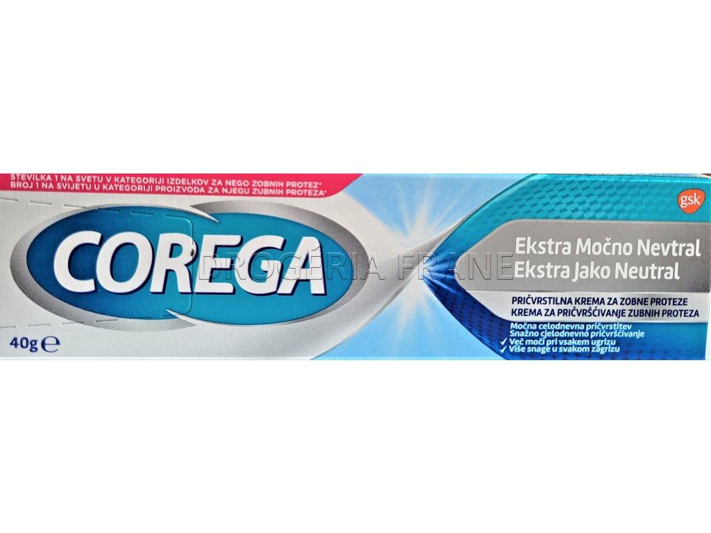corega ultra haftcreme neutral fixacny krem na zubne nahrady 40 g