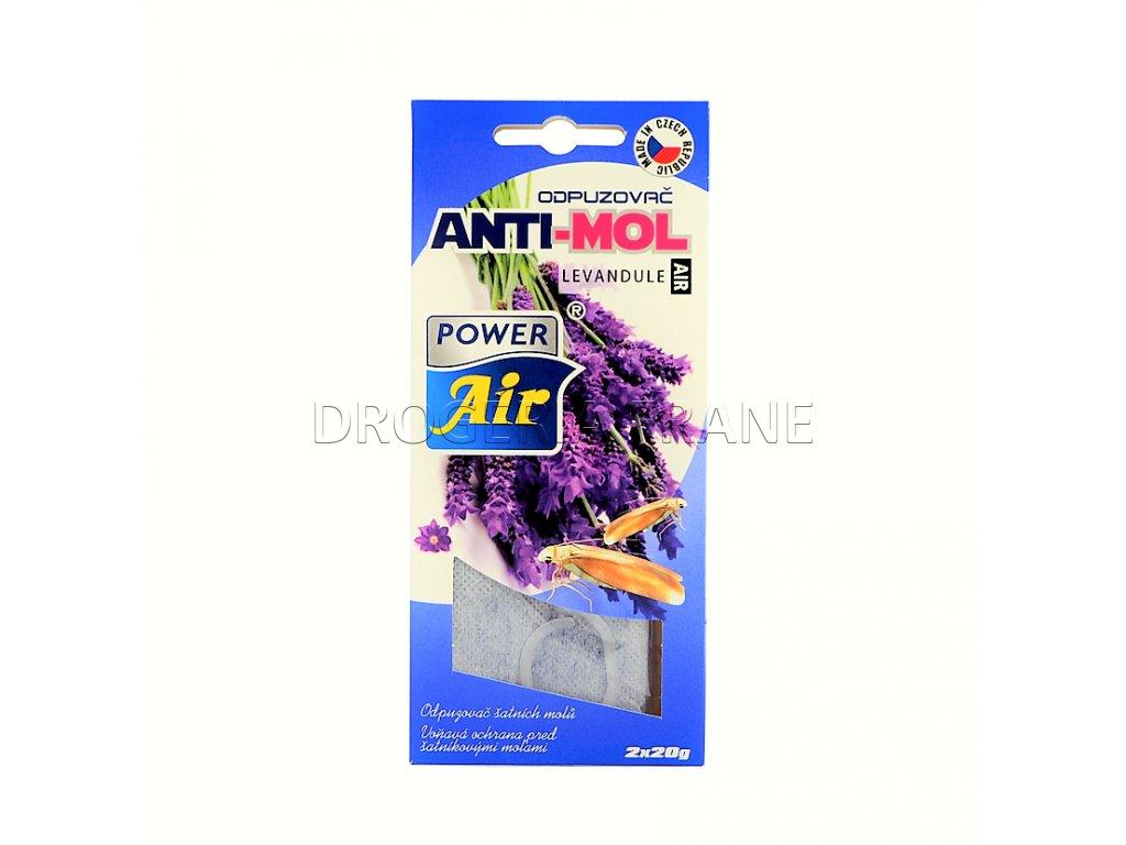 odpudzovac anti mol levandula 2 x 20 g