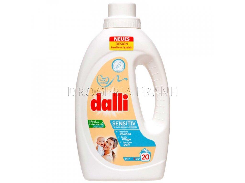 gel na pranie dalli sensitive 1 1 l 20 prani