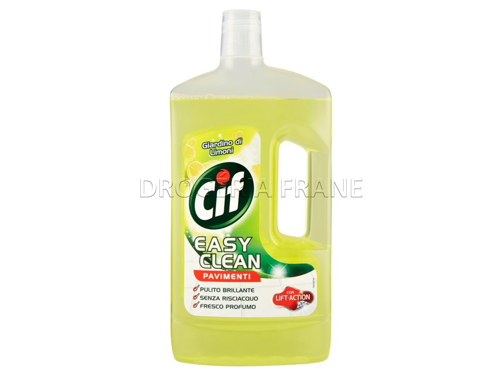 cistiaci prostriedok na podlahy cif citron 1 l