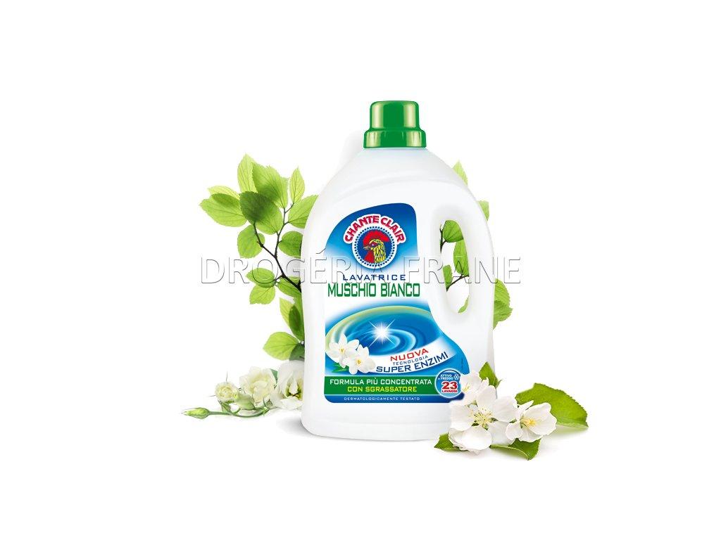 gel na pranie chante clair muschio bianco biele pizmo 1 403 l 23 prani