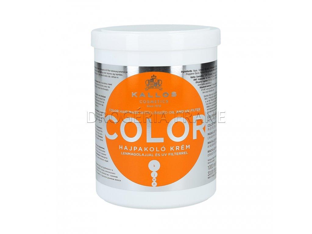 kallos maska na vlasy color 1000 ml