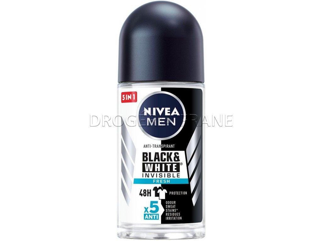 pansky gulockovy anti transpirant nivea black white 50 ml