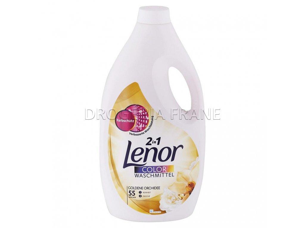gel na pranie lenor color 2 v 1 golden orchidea 3 025 l 55 prani