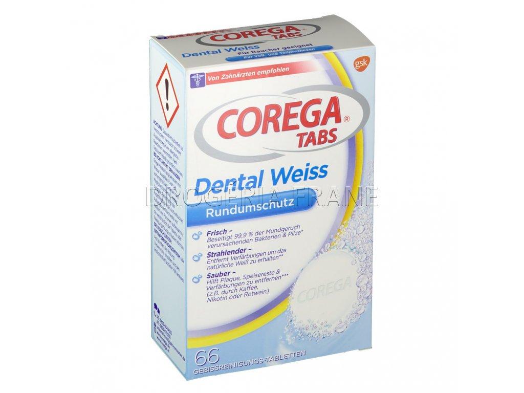 corega tabs dental weiss 66 ks