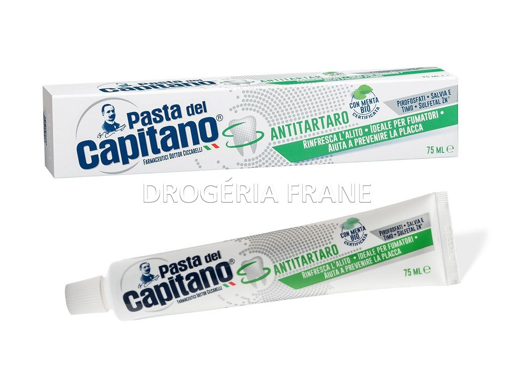 zubna pasta pasta del capitano antitartaro 75 ml
