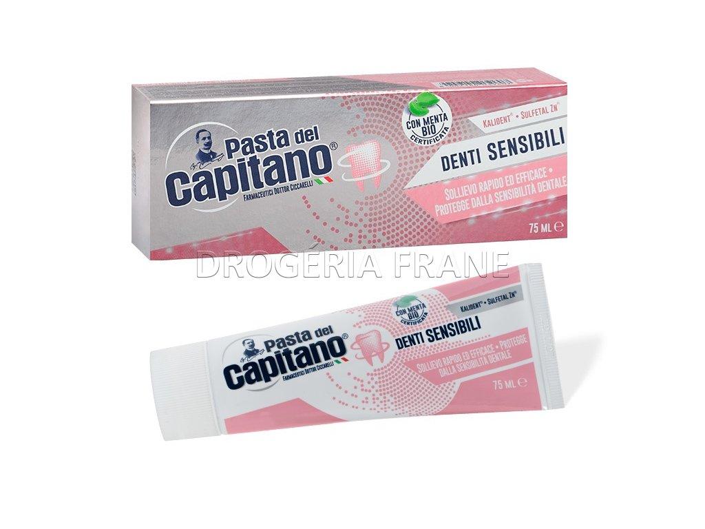 Zubná pasta Pasta del Capitano Denti Sensibili pre citlivé zuby - 75 ml