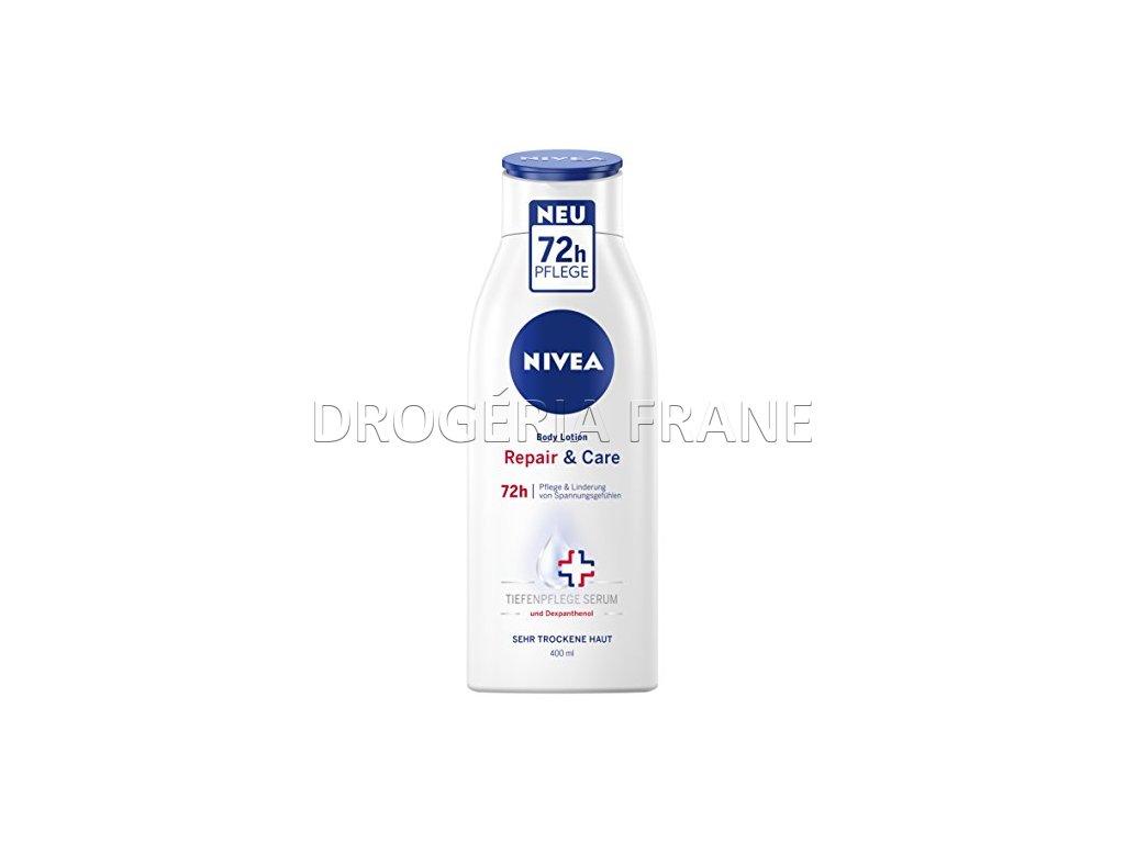 damske telove mlieko nivea repair care 72 h 400 ml