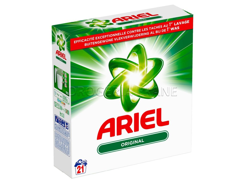 ariel original prasok na pranie 1 365 kg 21 prani