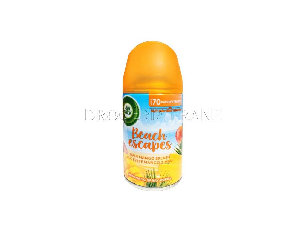 osviezovac vzduchu air wick automatic sprej beach escapes mango 250 ml