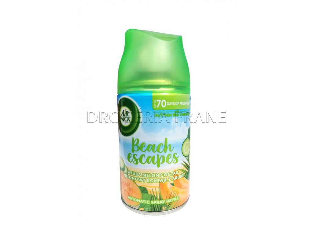 osviezovac vzduchu air wick automatic sprej beach escapes melon 250 ml