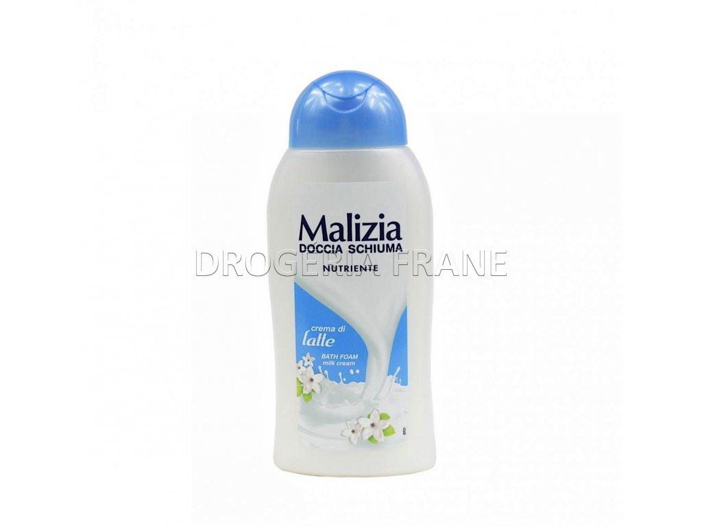 damsky sprchovy gel malizia crema di latte 300 ml
