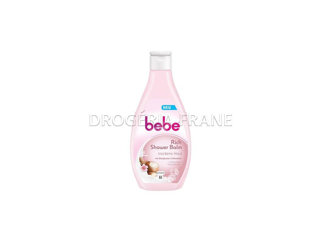 bebe kremovy sprchovy balzam bambucke maslo mandlovy olej 250 ml