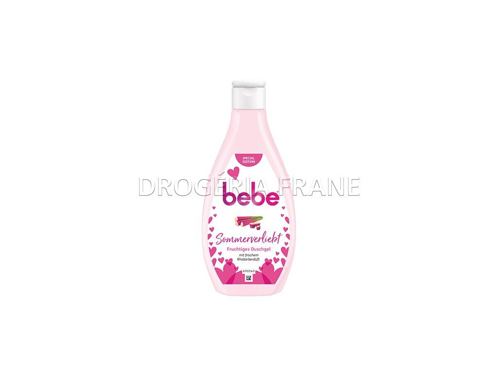 bebe fruchtiges sprchovy gel rebarbora 250 ml