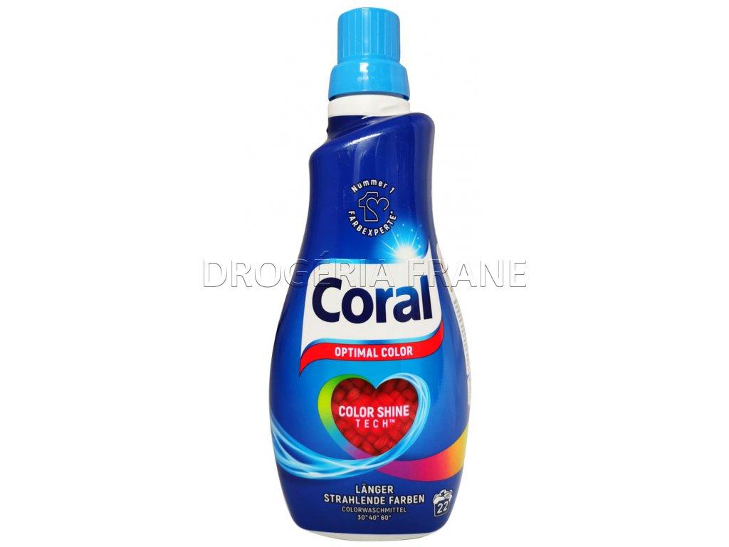 gel na pranie coral optimal color shine tech 1 1 l 22 prani