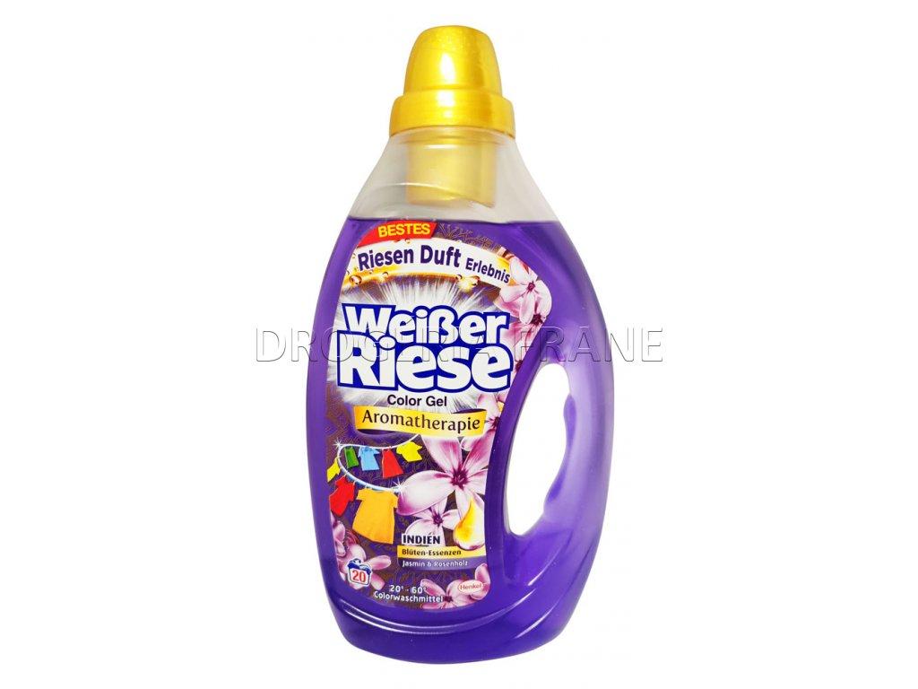 gel na pranie weisser riese color aromatherapie jasmin rosenholz 1 0 l 20 prani