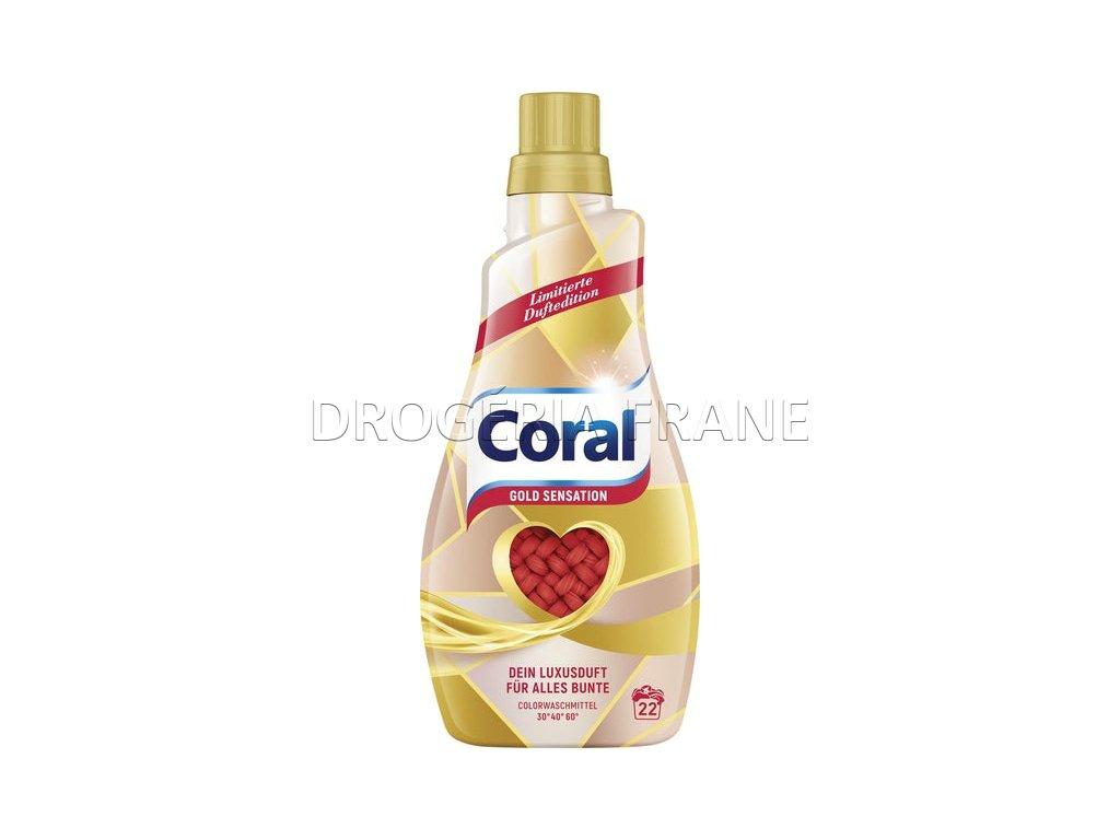 gel na pranie coral gold sensation 1 1 l 22 prani