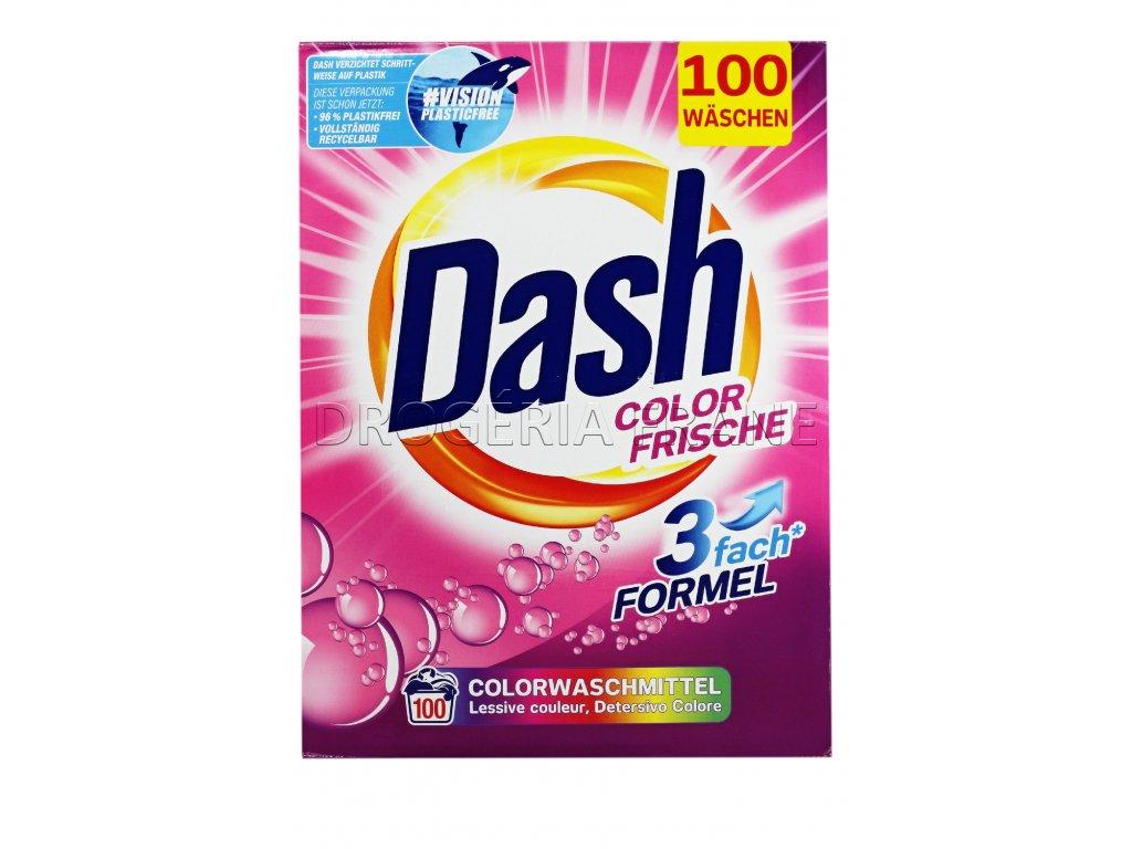 prasok na pranie dash color frische 3fach formel 6 5 kg 100 prani
