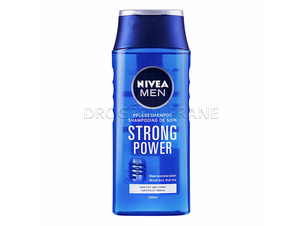 pansky sampon nivea strong power 250 ml