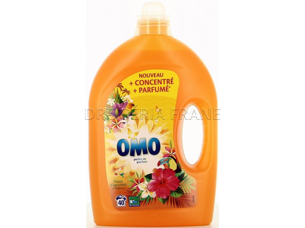gel na pranie omo fleurs tropicke kvety 2 0 l 40 prani