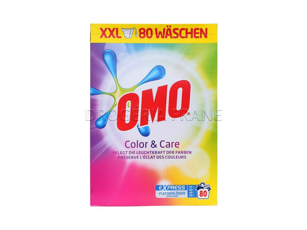 prasok na pranie omo color care 5 6 kg 80 prani