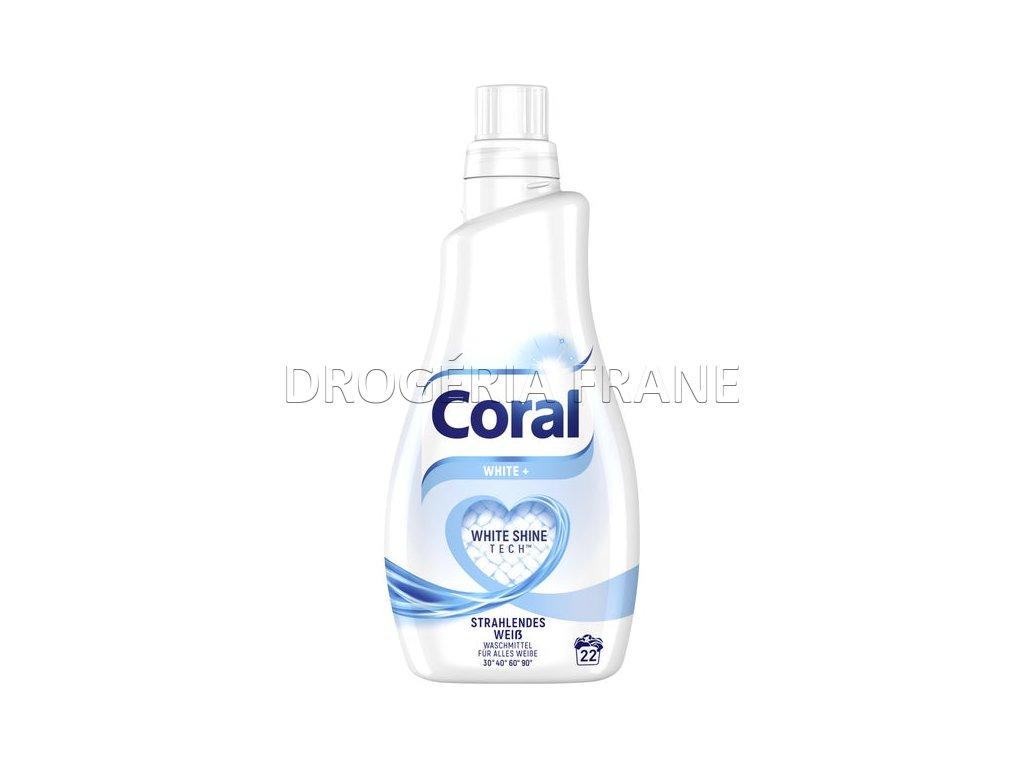 gel na pranie coral optimal white shine tech 1 1 l 22 prani