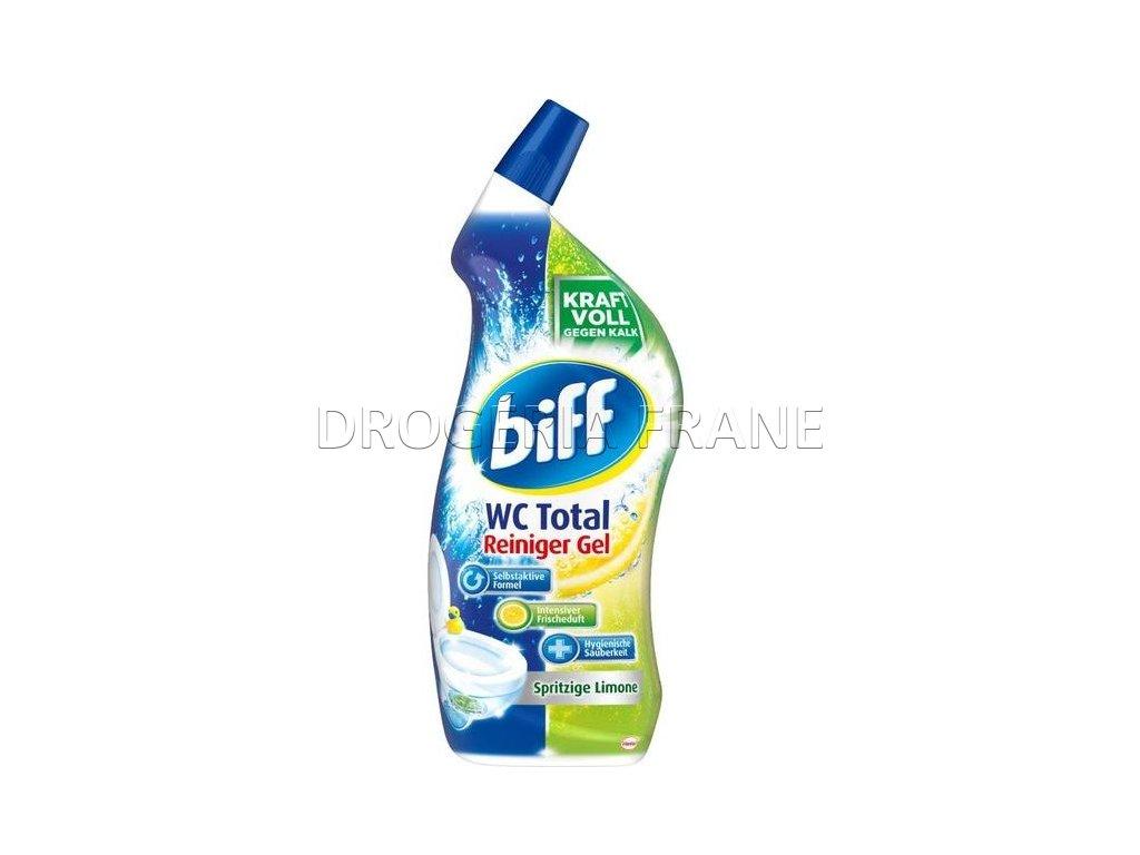 wc cistic biff wc total reiniger gel limone 750 ml