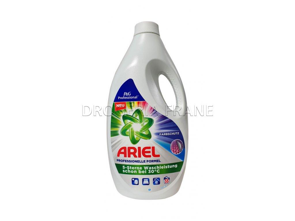gel na pranie ariel na farebne pradlo professional color gel 3 025 l 55 prani 2