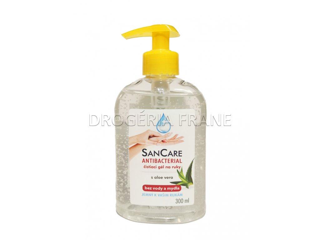 antibakteriial san care gel na ruky s aloe vera s pumpickou 300 ml