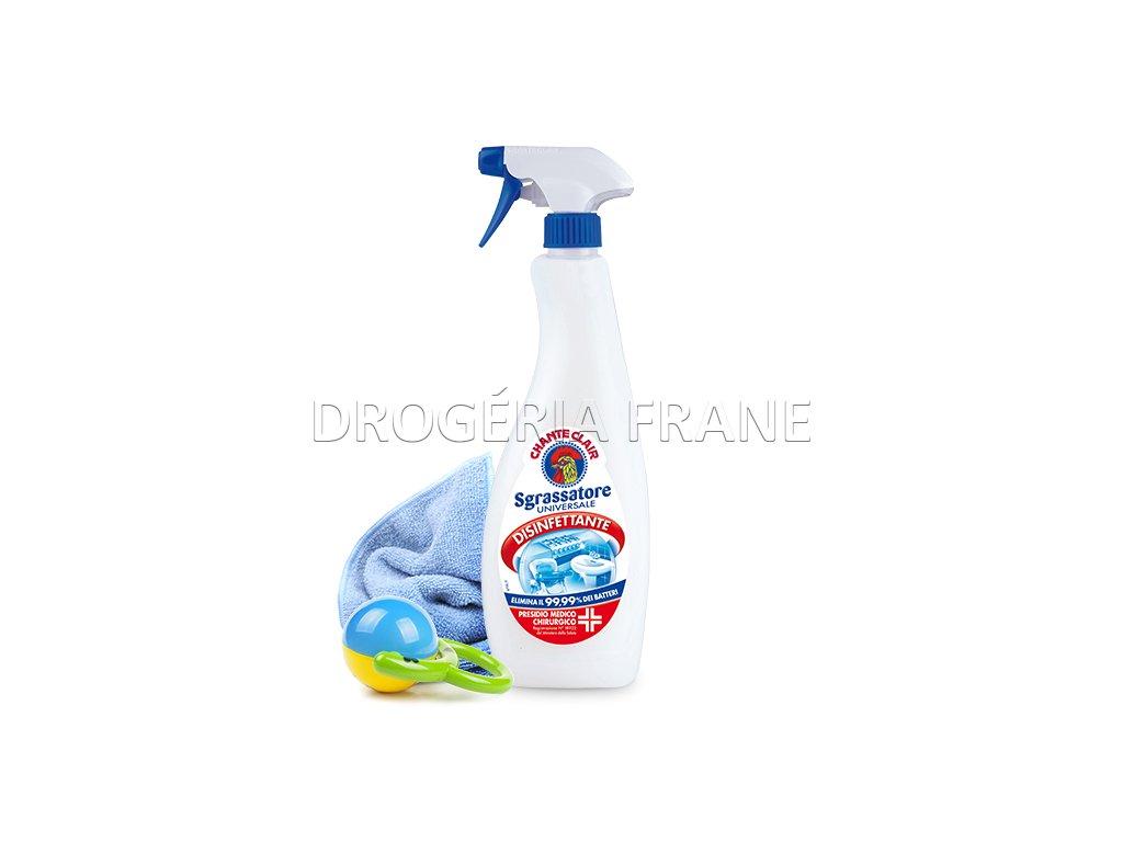 dezinfekcny univerzalny odmastnovaci cistic s rozprasovacom 625 ml