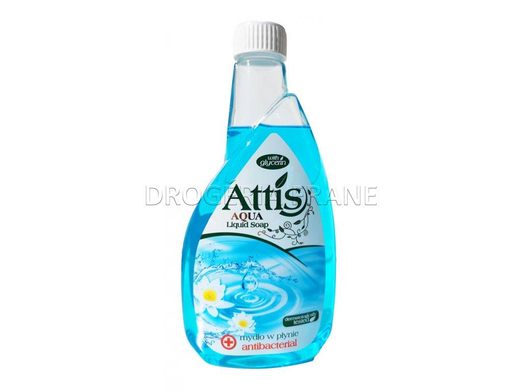 antibakterialne mydlo na ruky attis aqua 400 ml