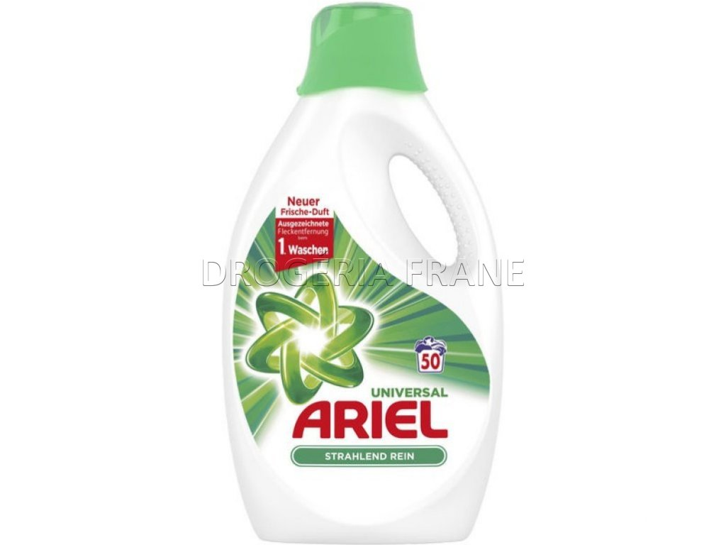 gel na pranie ariel universal gel 2 75 l 50 prani