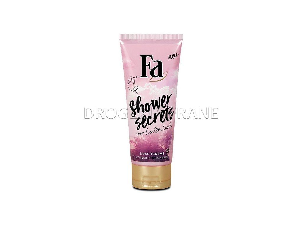 fa shower secrets from luisa lion shower cream 200 ml 68 fl oz