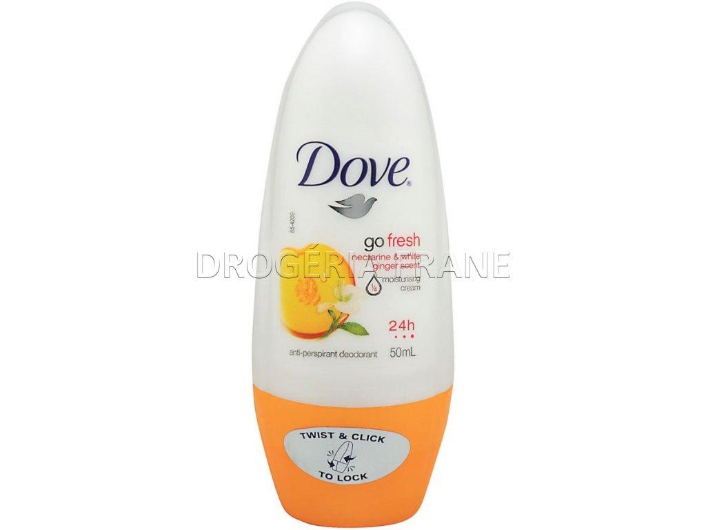 dove damsky anti perspirant go fresh nektarinka zazvor roll on 50 ml