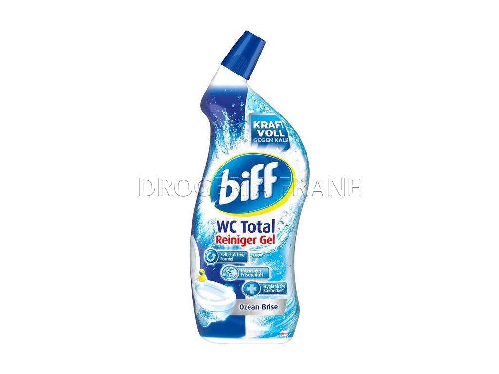 wc cistic biff wc total reiniger gel ocean 750 ml