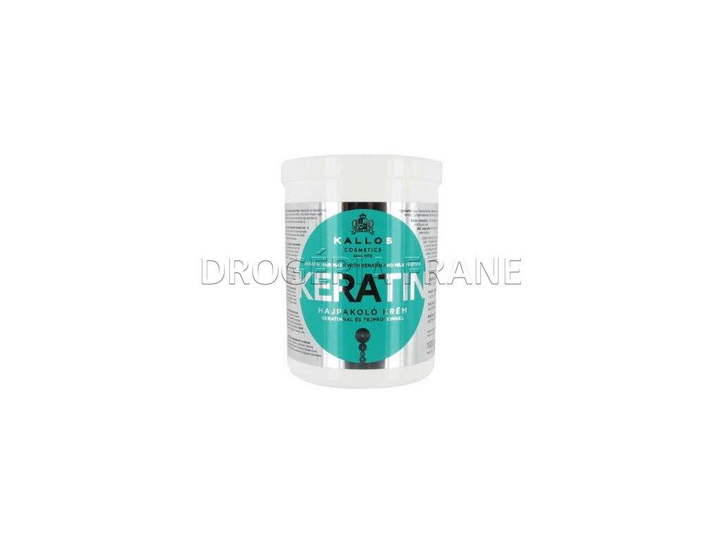 kallos maska na vlasy keratin 1000 ml