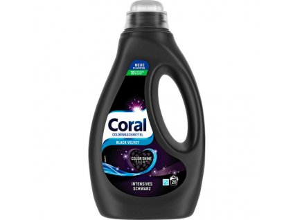gel na pranie coral black velvet na cierne pradlo 1 25 l 26 prani