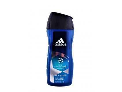 sprchovy gel adidas na telo a vlasy champions league 250 ml
