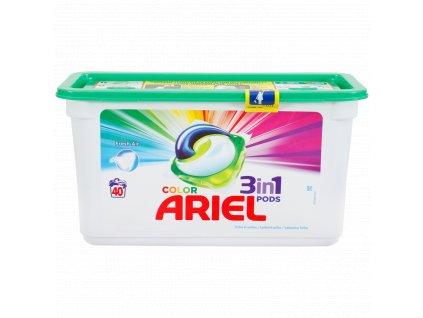 kapsule na pranie ariel 3 in 1 color fresh air 40 ks