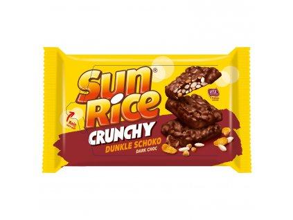 sun rice crunchy dunkle schoko happen cokolady 200 g
