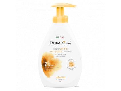 dermomed gel intimna hygiena s extraktom mimozy extra hydration 300 ml