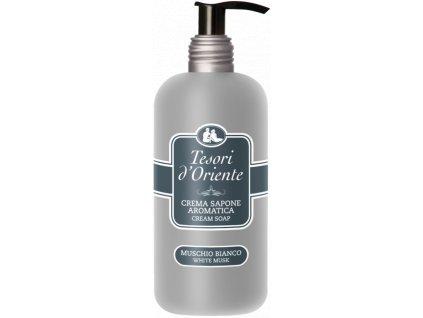 tesori d oriente mydlo na ruky muschio bianco biele pizmo 300 ml
