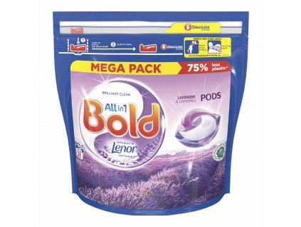 kapsule na pranie bold all in 1 with lenor levandula a kamilky 51 prani