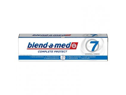zubna pasta blend a med complete protect crystal white 125 ml